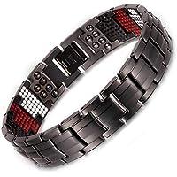 Herren Titan magnetisch bracelet-all sizes-negative Ion Balance Armband Golf Geschenke Gesundheit Armband für... preisvergleich bei billige-tabletten.eu