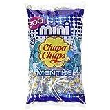 Chupa Chups Sachet de 300 Mini Sucettes Menthe (1,8 kg)