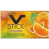 V Stick Premium Chewing Gum Flavor (Pack Of 5) (Orange)