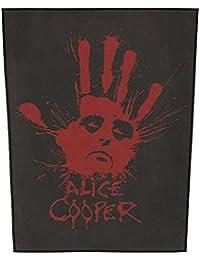 ALICE COOPER SPLATTER HAND Backpatch