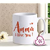 TIED RIBBONS Best Gift for Mummy Gift for mom from Daughter Printed Coffee Mug(320ml) with Mothers Day Special Wooden Tag