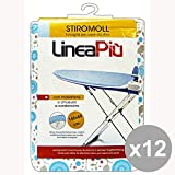 Conjunto de 12 STIROMOLL Telo Para tabla de planchar 148X60 Cm. ART.0442H de lavandería