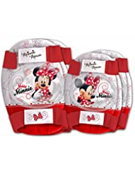 Disney Minnie Mouse Childrens Elbow and Knee Pads Set Kids Skate