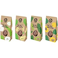 TUNDRA SPROUTED BUCKWHEAT MINI BARS SET. SUITABLE FOR VEGANS AND KIDS (Peanuts, Sesame, Sunflowers, Coconut) 600g. (No dairy, soy, sugar, sweeteners, groundnuts or preservatives)