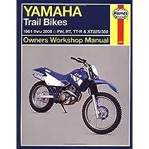 Yamaha Trail Bikes, '81'00 (Haynes Repair Manuals) 1st edition by Haynes, John (2001) Paperback