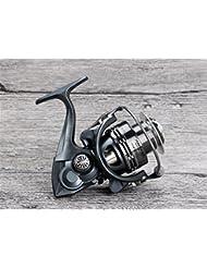Carbone Main Carrosserie Roue de poisson Ligne de poisson Reel No Gap Metal Rocker Arm Eva Grip10 + 1 Axe