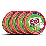 Exo Round Dish Wash Bar - 700 g (Pack of 4)