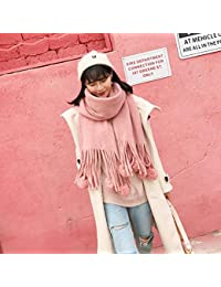 IBUP - Écharpe Japonaise et coréenne sucrée, écharpe en Cachemire pour Femme  - Longue et be3a1a3e5ed