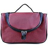 HOYOFO Travel Cosmetic Bags Makeup And Toiletries Organizer Portable Make Up Bag