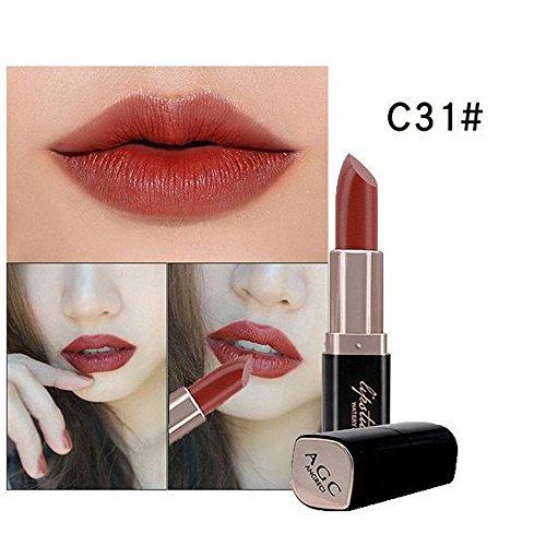 Liquidation !!! OSYARD Beauté Produits de beauté Imperméable Femmes Velours Rouge à lèvres mat Gloss Maquillage(#11)