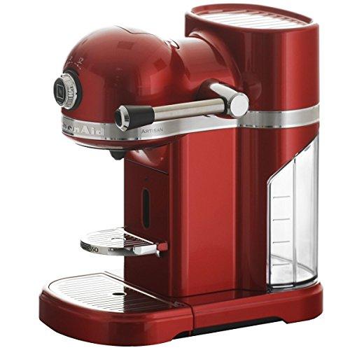 KitchenAid 5KES0503ECA/4 Nespresso Serie Artisan - Macchina da caffè, colore: mela rossa dell'amore