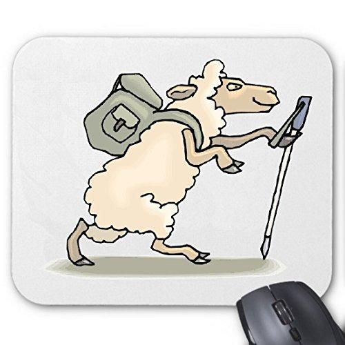 """Preisvergleich Produktbild Mousepad (Mauspad) """"Schafe beim Wandern Cartoon Zeichentrick Spass Film Serie Dvd """" für ihren Laptop, Notebook oder Internet PC .. (mit Windows Linux usw.)"""