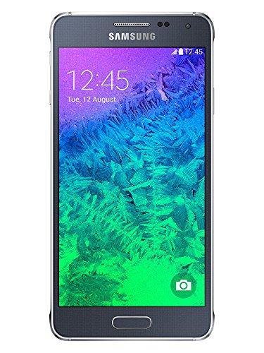 Samsung G850 Galaxy Alpha Smartphone, 32 GB, Nero [Italia]