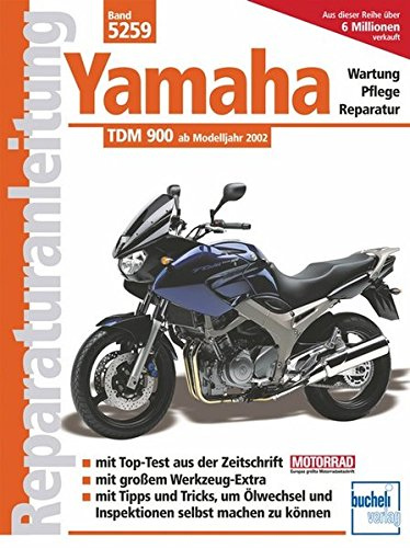 Free Yamaha Tdm 900 Reparaturanleitungen Pdf Download