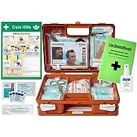 Erste-Hilfe-Koffer M1 -Paket 2- für Betriebe DIN/EN 13157 inkl. Hände-Antisept-Spray & 1. Hilfe Aushang preisvergleich bei billige-tabletten.eu