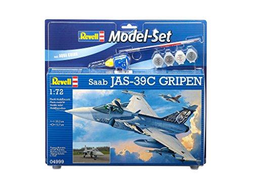 revell-64999-maquette-daviation-saab-jas-39c-gripen-110-pieces-echelle-1-72