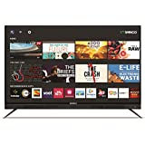 Shinco 140 cm (55 Inches) 4K UHD Smart LED TV S55QHDR10 (Black) (2018 model)