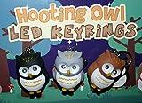 Generic Amazing Fabulous modischen cute Hooting Owl LED keyring Taschenlampe-Super hell leuchtenden LED Eyes Key Chain mit Licht und wunderbaren Hooting Sound-schwarz von PK Green günstig in Tasche, Tasche, Glove Box