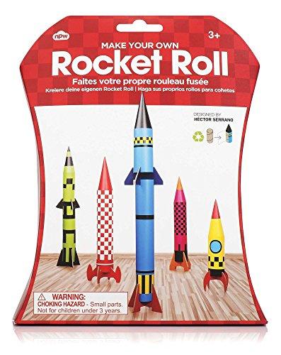 Mach deine eigene Rakete aus Klopapierrollen - Rocket roll