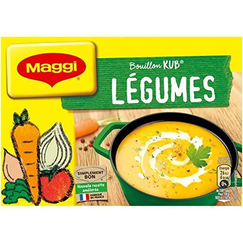 Maggi - Bouillon De Légumes 180G - Lot De 5 - Livraison Rapide en France - Prix Par Lot