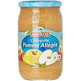 ANDROS Compote Pomme Allégée 730 g