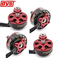 4pcs DYS Brushless Motor 2306 2800KV 3-4S for RC Drone FPV Racing Quadcopter( Samguk Series Shu ) by DroneAcc