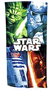 Offiziell lizensiertes Star Wars Kids Pool Holiday Travel Beach Handtuch