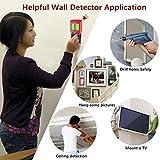 Homder Stud Finder Stud Detector, 3-in-1 Metal AC Wire Stud Wall Detector, Cable Detector Wall Wire Detector Wood Finder, Multi-Scanner for Wall & Ceiling with LCD & Beep Alert Bild 4