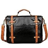 Asdflina Bürotasche Hohe Qualität Herren Handtasche Business Dokumentarfilm Computer Tasche für IPAD Schulter Messenger Bag Geeignet für den täglichen Gebrauch