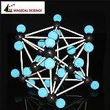 BoldGare (TM) Serie 30mm CO2-Kristallstruktur-Modell Kunststoffstab Verbindung Kohlendioxid Molek¨¹lmodell Sch¨¹tt Lieferung