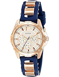 Guess Analog White Dial Women's Watch - W0325L8