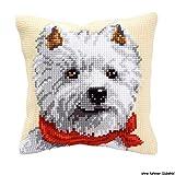 Vervaco PN-0008572 VER Kreuzstichkissen West Highland Terrier