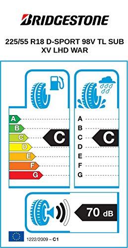 Bridgestone Dueler Sport-225/55/R1898V-C/C/70db-pneumatici Estate (SUV E Fuoristrada)