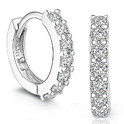 Design-creativo-Stud-orecchini-925-Sterling-Silver-ZHOKE-donna