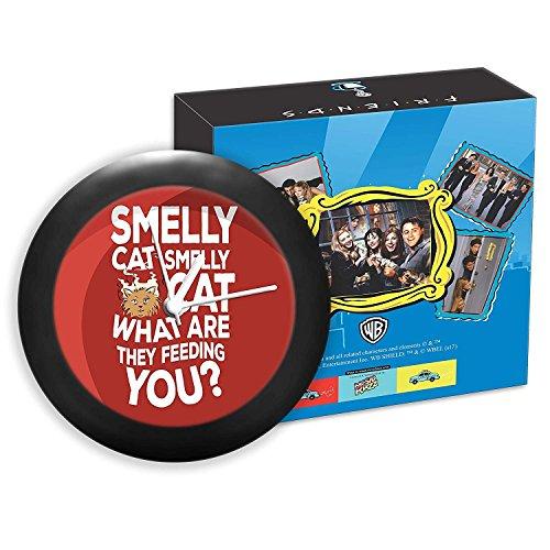MC SID RAZZ Friends-TV Serie-Smelly Cat   Tisch Uhren  Desk Uhr   Tisch Uhr Home Decor  Table Uhr Büro, Offizielles Lizenzprodukt Warner Bros, USA