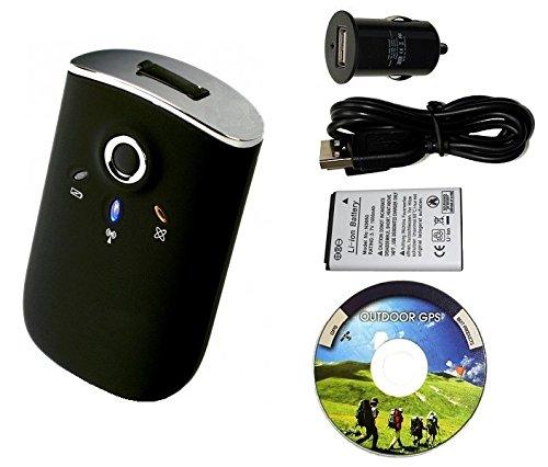 GT-750FL Bluetooth GPS Receiver mit Datenlogger Funktion (Standardpaket)