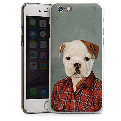Apple iPhone 5 Housse étui coque protection Chien Chien Bouledogue CasDur transparent