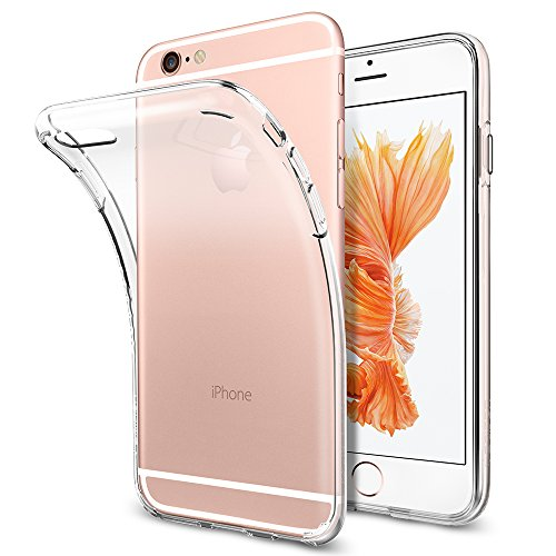 Coque iPhone 6s / 6, Spigen®[Liquid Crystal] TPU Silicone Transparent Ultra-Fine, Coque Etui Housse iphone 6 / 6s Liquid Crystal (SGP11596)