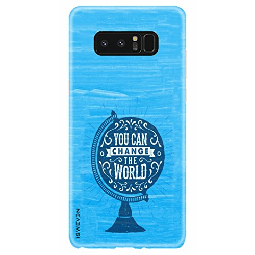 iSweven Samsung Galaxy Note 8 case, printed designer slim fit hard case cover, light weight 360 degree protection, matte finish back cover for samsung note 8 (2681 Art)