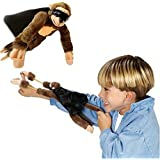 Skylofts Super Stretchy Plush Toys Monkey Sling Shot Toys Slingshot Bow Catapult Hunting Kids Adults Slingshot Screaming Flying Monkey