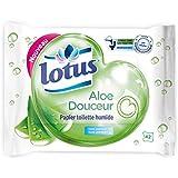 Lotus Papier Toilette Humide Aloe Douceur 42 feuilles - Lot de 6