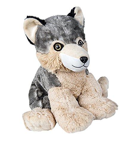 Stuffems Toy Shop Kuschelige 8-Zoll-Stuffed Wolf .Wir Sachen 'em .Sie lieben' em! (Gund Bär Teddy Braun)