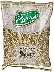 Purna Split Moong Dal - 500 gm