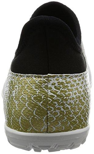 adidas X 16.3 Tf, Scarpe da Calcio Bambino Bianco (Ftwr White/core Black/gold Metallic)