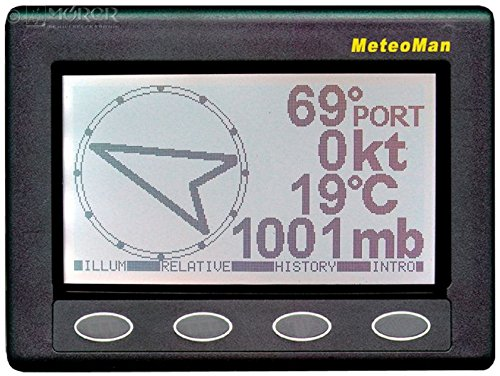 Nasa - MeteoMan - Marine Wetterstation - Wetterempfänger Nmea-anzeige