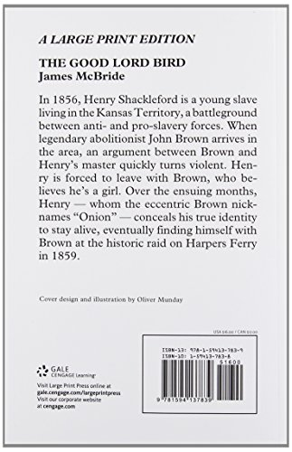 The Good Lord Bird (Thorndike Press Large Print Historical Fiction)