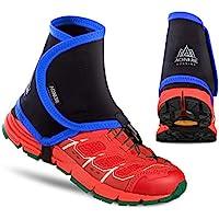 Azarxis - Fundas Protectoras para Zapatos de Senderismo para Hombres y Mujeres y jóvenes (Azul y Negro)