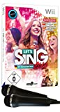 Let's Sing 2017 Inkl. Deutschen Hits (+2 Mics) -