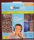 KidzSafe KS-2013-BDIY-ROH Kopfhörer für Kinder, Blau