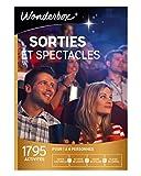 Wonderbox - Coffret cadeau culturel couple- SORTIES ET SPECTACLES - 1795 activités-sortie culturelle, activité de loisirs, cours ou atelier, places de cinéma pour 1 à 6 personnes...